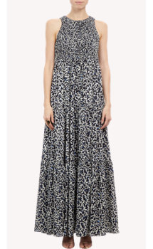 Proenza Schouler Twig Print Maxi Dress