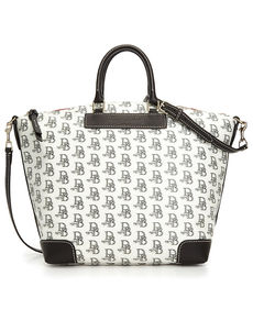 Dooney & Bourke Signature DB 75 Vanessa Satchel