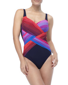 Gottex Colorful One-Piece Swimsuit