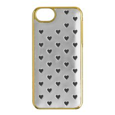 Metallic leather case for iPhone® 5/5S