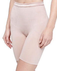 Slimmer and Shine Mid-Thigh Shaping Briefs   Slimmer and Shine Mid-Thigh Shaping Briefs