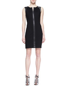 Lexington Leather-Weave Dress   Lexington Leather-Weave Dress