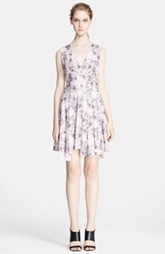 Robert Rodriguez Bonded Floral Print Dress