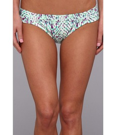 Shoshanna Occitan Ikat Shirred Bikini Brief