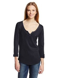 Lucky Brand Women's Costa Mesa Pocket Top