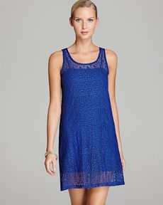 Tommy Bahama Lace Covers Short Cover Up Tank Dress