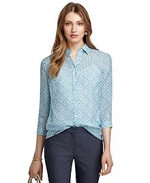 Four Points Silk Blouse