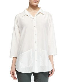 Freyza Blaire Button-Up Hip-Pocket Shirt   Freyza Blaire Button-Up Hip-Pocket Shirt