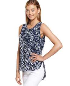 Calvin Klein Jeans Sleeveless Printed Tank Top
