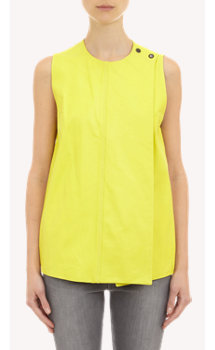 Proenza Schouler Leather Sleeveless Top