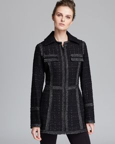 Laundry by Shelli Segal Coat - Combo Wool