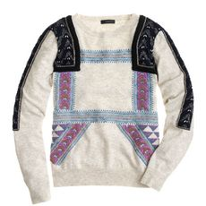 Collection embellished Moroccan sweater