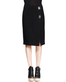 Turn-Lock Pencil Skirt   Turn-Lock Pencil Skirt