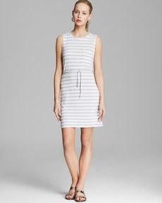 Soft Joie Dress - Paseo Pocket Stripe