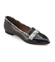 "Donald J Pliner® ""Ava"" Tailored Flats - Black"