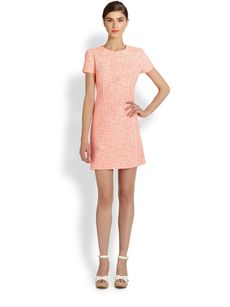 Shoshanna Jacquard Tamara Dress
