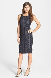Marc New York by Andrew Marc Textured Knit Sheath Dress