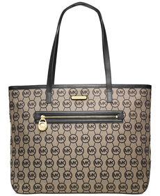 MICHAEL Michael Kors Signature Jet Set Large East West Tote