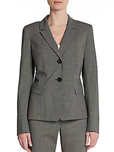 Lafayette 148 New York Willa Stretch Wool Jacket