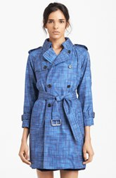 MARC JACOBS Water Resistant Silk Trench Coat