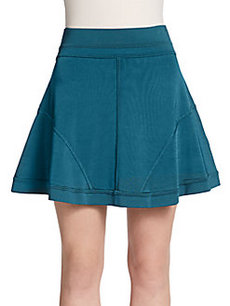 Robert Rodriguez Techno Light Flared Skirt