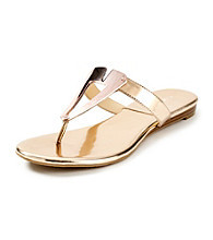 "Calvin Klein ""Sadi"" Flat Dress Sandals"