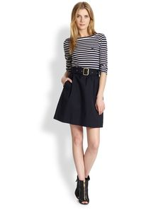 Burberry Brit Jodie Striped Dress