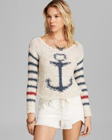 Free People Pullover - Sailor Song