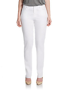 Lafayette 148 New York Five Pocket Straight-Leg Jeans