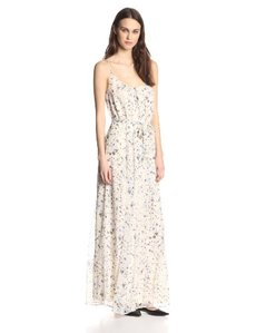 Joie Women's Maruceka Washed Floral Maxi Dress
