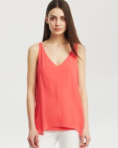 Kenneth Cole New York Robin Deep V Tank