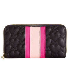Betsey Johnson Zip Around Wallet