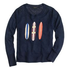 Linen surfboard sweater
