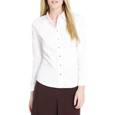 Ruched Front Blouse (Plus)