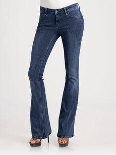 Burberry Brit Power Stretch Flared Jeans
