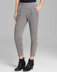 Free People Pants - Stripe Easy Pleat