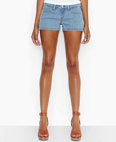 Levi's® Juniors' Shortie Side-Zipper Shorts