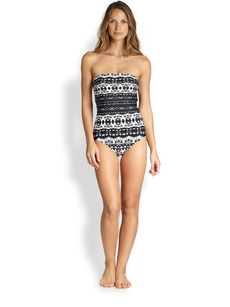 Badgley Mischka One-Piece Maya Swimsuit