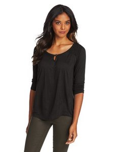 Lucky Brand Women's Elie Yoke Top