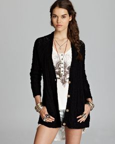 Free People Cardigan - Fable Yarn