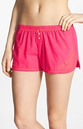 kensie 'Sunset Boulevard' Embroidered Boxer Shorts