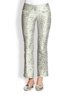 Tory Burch Silk Gazar Eliana Pants