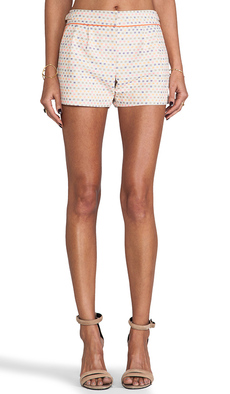 Trina Turk Maureen Shorts in Peach