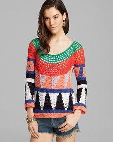 Free People Pullover - Modern Art