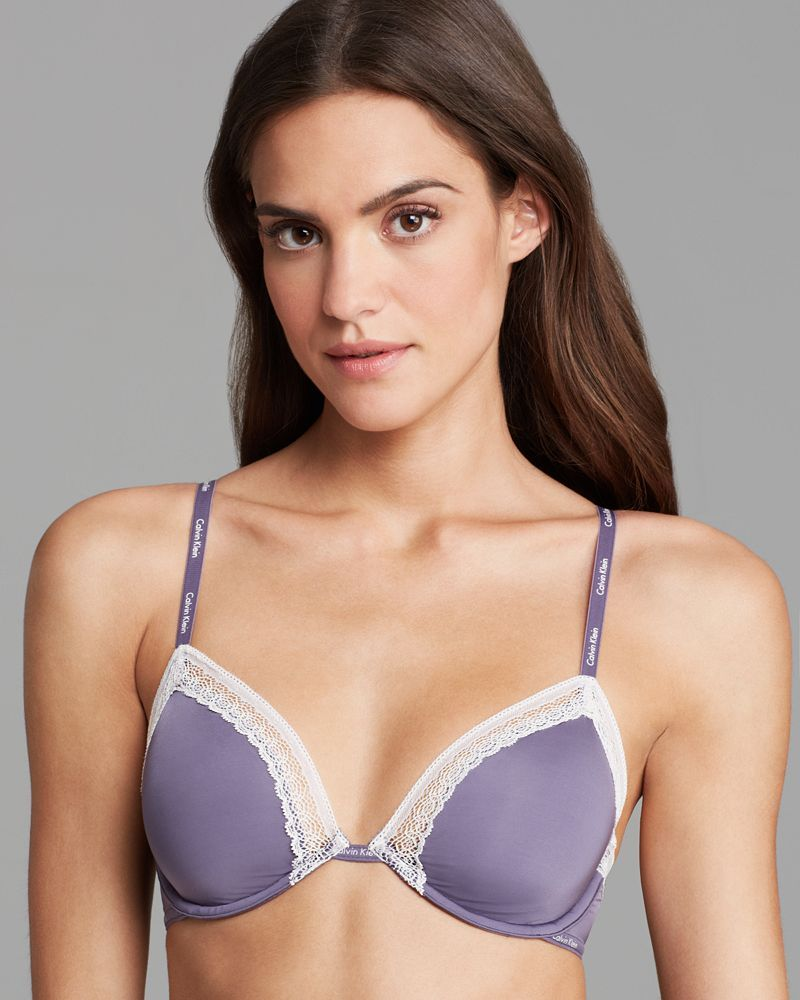 Calvin Klein Underwear Underwire Bra - Perfectly Fit Sexy Signature Unlined #F3264