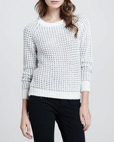 Joie Kyleen Rib-Trim Sweater