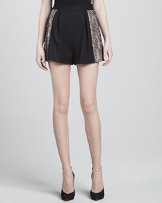 JASON WU High-Waisted Shorts