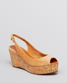 Tory Burch Platform Wedge Sandals - Rosalind
