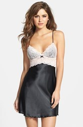 Betsey Johnson 'Sexy' Lace & Satin Slip