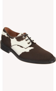 Givenchy Bicolor Ponyhair Oxford